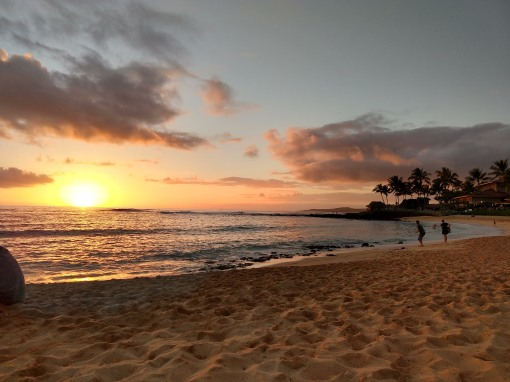 Sunset in Koloa